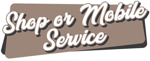 SHOP OR MOBILE SERVICE BANNER