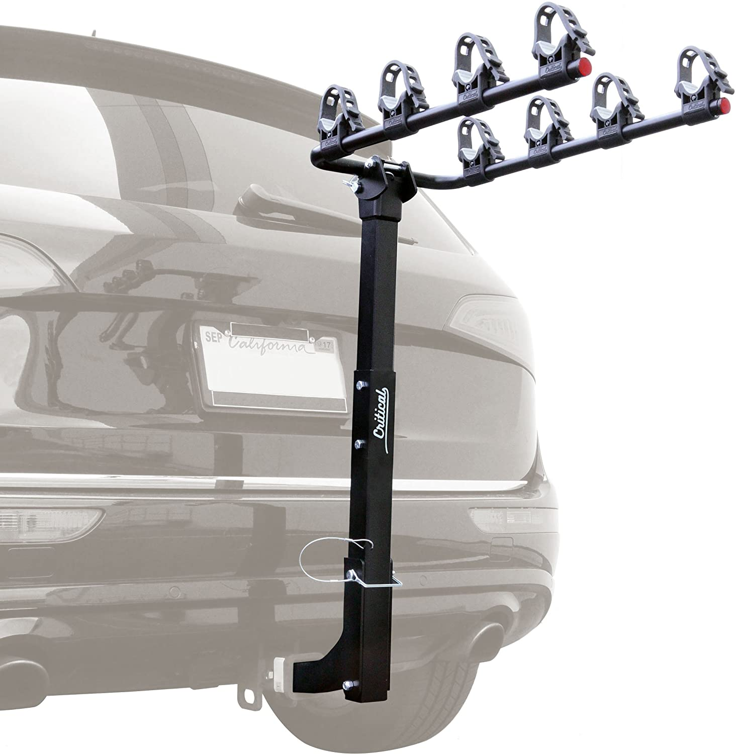 Retrospec Lenox Car Hitch Mount Bike Rack with 2-Inch Receiver